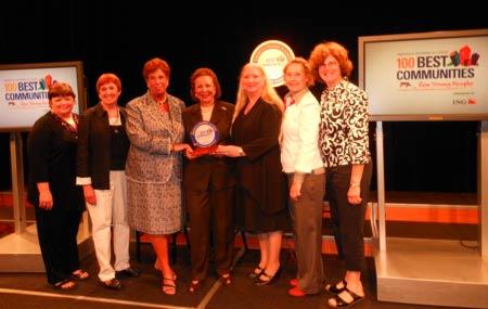 100 best communities award to Newtown, PA